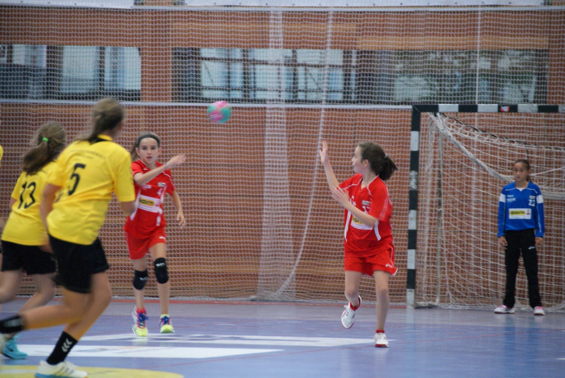 Erstes Spiel - erster Sieg der weiblichen U12! | ALPLA HC